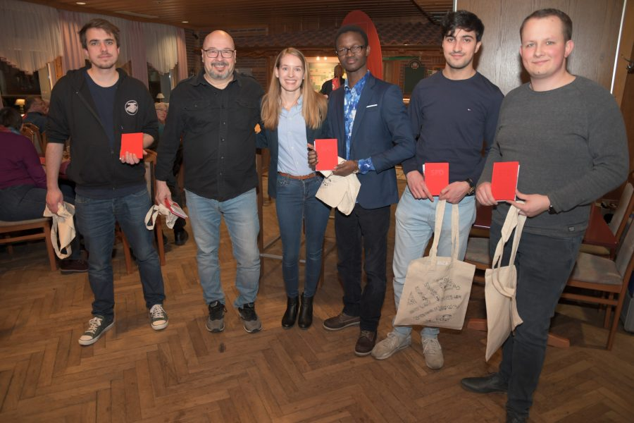 Gruppenfoto Grünkohlessen SPD Neustadt-Wüste 2020